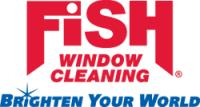 FISH Window Cleaning Logo - red and blue
