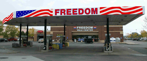 Freedom Valu Gas Station