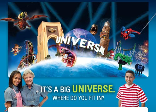 Universal Studios Orlando :: It's a BIG UNIVERSE. Where do you fit in?