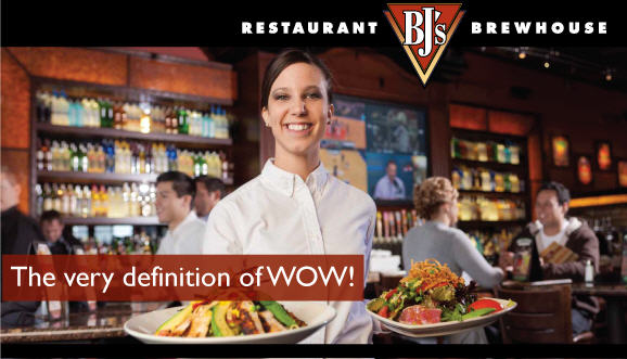 bj's restaurants, inc. jobs
