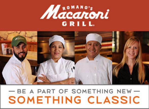 macaroni grill jobs