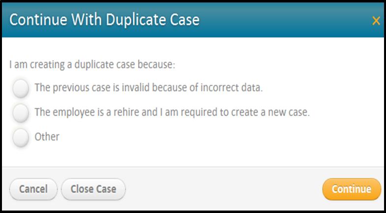 E-Verify: How do I manage a duplicate case?